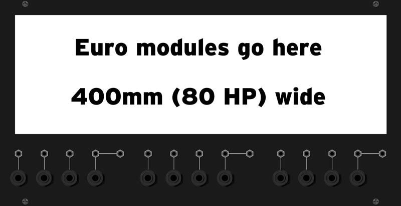 MUFF WIGGLER :: View topic - Octal-width Euro converter for 5U!